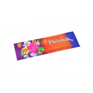 PHOSHAK 25 GRAMS INCENSE STICKS POUCH ( SET OF 12 POUCHES )