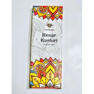 KESAR KASTURI INCENSE STICKS 100Gms BOX ( PACK OF 6 BOXES )